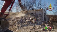 Sisma centro Italia - I soccorsi dei Vigili del Fuoco - 03/01 Ritrosi - ...