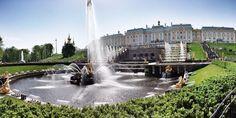 Palacio Petershoof, San Petersburgo, Rusia.