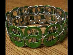 Dont forget to subscribe! New pop tab bracelet video PLUS A POP TAB BELT and other bracelet designs! STRING LENGTH: Wrap string round your wrist one and a half times and double the length. For the 'X' design I would wrap it around your wrist twice and double the length.    https://www.facebook.com/TatianaAmbrose    MY EBAY STORE: http://myworld.ebay...