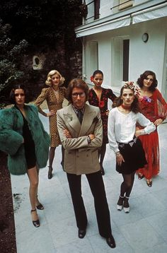 Yves Saint Laurent by Bruno Barbey, 1971. I saw his exhibit at the Art Museum in Denver and I will never forget the stunning quality of his pieces. A true genius!