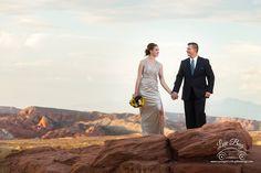 Valley of Fire Wedding Via Utah | Las Vegas Luv Bug Weddings