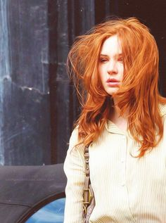 mooi rood is niet lelijk ♥ Red hair - Karen Gillan Karen Gillan, Karen Sheila Gillan, Natural Red Hair, Red Hair Woman, Scarlett, Lily Evans, Caramel Hair, Ginger Girls, Super Hair