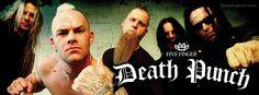 Five Finger Death Punch FFDP Facebook Covers CoverLayout.com