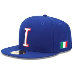 World Baseball Classic 2013 Italy Official On-Field 5950 Fitted Cap ffe59601dade