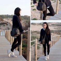 At Praia do Guincho, Lisboa (by Teetharejade .com) http://lookbook.nu/look/4757483-At-Praia-do-Guincho-Lisboa