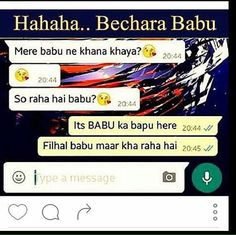 Hahaha..bechara babu