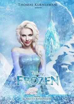 Scarlett Johansson en Elsa