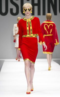 Moschino - Fall/Winter 2014-2015 Milan Fashion Week