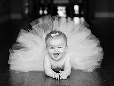 Cute baby pic idea for little girl