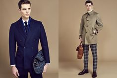 Hackett Autumn/Winter 2015 Men's Lookbook | FashionBeans.com