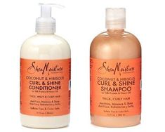 Shea Moisture Coconut and Hibiscus Curl and Shine Shampoo and Conditioner Set W/silk Protein and Neem Oil 13 Oz Bottles ** Read more  at the image link.