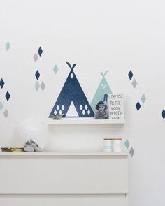 Wandtattoos - Kinderzimmerdeko: Folie für RIBBA / MOSSLANDA B... - ein Designerstück von Limmaland bei DaWanda