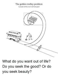Trolley Problem Memes   Trolley problem, Memes, Funny memes