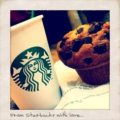 From Starbucks with love...