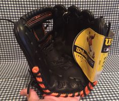 Wilson A12RB155A1788 6-4-3 Series Infielders Baseball Glove RH Thrower Leather…