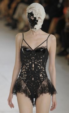Alexander McQueen. So wonderful and absurd.