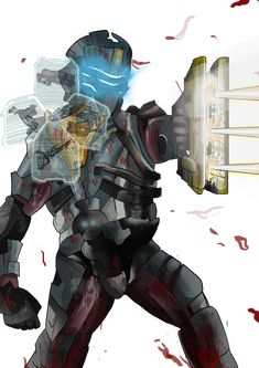 Dead Space 2 by MatthewHogben on DeviantArt Hand Cannon, Dead Space, Sci Fi Art, Creature Design, Best Artist, Character Art, Cool Pictures, The Past, Fan Art