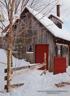 Red door barn