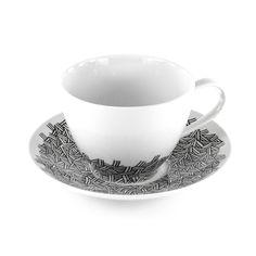 Handmade Teacup by Ulrike Wathling #teacup #drawing #handmade