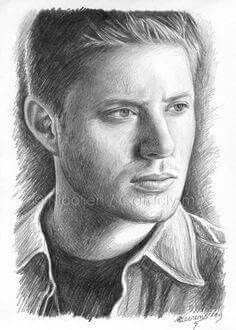 Newest Images supernatural drawing sketches Concepts Is there much genuine difference between illustrating plus pulling? For you to answer to this particular conundrum, why Dean Winchester, Winchester Brothers, Supernatural Drawings, Supernatural Fan Art, Amazing Drawings, Realistic Drawings, Amazing Artwork, Drawing Sketches, Pencil Drawings