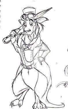 Steampunk Kangaroo (Aaron Nicholas Bautista)