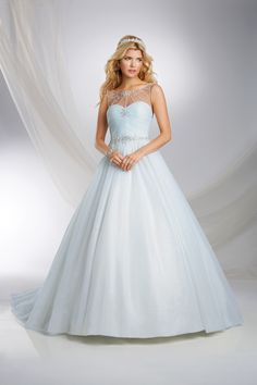 Cinderella Inspired Disney Princess Wedding Dress - 2015 Disney's Fairy Tale Weddings by Alfred Angelo