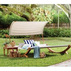 Found It At Allmodern Miriam Double Chaise Lounge With Cushion Patio Furniture Sets Outdoor #livingroomdesign #decoration #livingroomdecoration #furniture #2019 #jeeworld
