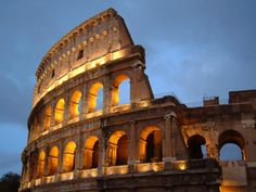 The Colosseum is a very popular and historical place in Rome. We are giving here some information about Colosseum with new photos-images for Places Around The World, Oh The Places You'll Go, Places To Travel, Travel Destinations, Holiday Destinations, 7 World Wonders, Flights To Rome, Cheap Flights, Rome History