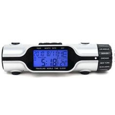 Get Multifunctional World Time Alarm Clock online from Dealtz.com to Use as an alarm clock or LED flashlight. This World Time Alarm Clock has a perpetual calendar with full month view and date along with a temperature display. Dealtz.com is one of the most popular online shopping store in India. This clock automatically adjusts the time according to city and also has a countdown timer function.