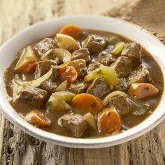 Under $1.75 per serving. For an easy-to-prepare meal, use McCormick® Beef Stew Seasoning with beef cubes and vegetables in your slow cooker. The beef is deliciously tender and the vegetables are infused with a wonderful beef flavor.