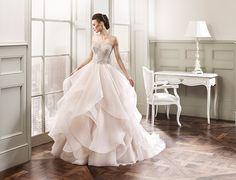 flowy bridal gown 2016 Wedding Dresses, Designer Wedding Dresses, Wedding Attire, Wedding Gowns, Bridesmaid Dresses, Dresses 2016, Nicky Hilton, Unconventional Wedding Dress, Essense Of Australia