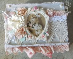 ILuvVintageScrap: Shabby Chic Romantic Box--Altered boxes