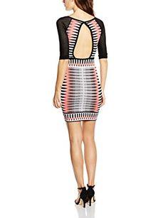 Morgan - Robe - Moulante - À rayures - Manches 3/4 - Femme: Amazon.fr: Vêtements et accessoires