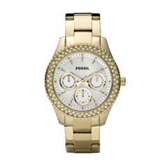 Women's Stella Watch Color: Gold Fossil. $121.50. Model: es2861. Band Color: Gold. Condition:Brand new with Tags. Brand:Fossil. Dial color: White