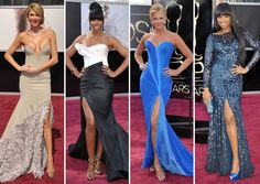 Brandi Glanville, Kelly Rowland, Nancy O'Dell e Jennifer Hudson