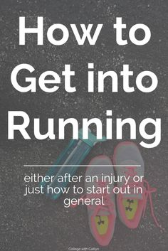 How to Get Back into Running after an Injury