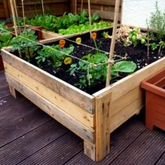 Want to have your own vegetable garden but do not have the space or grounds for it? Here is an easy and cost saving way to make your own planter box from used pallets.