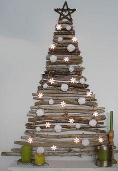 pinterest primitive craft trends   Holz, Ast, Schwemmholz, Baum, Weihnachtsbaum, Christbaum