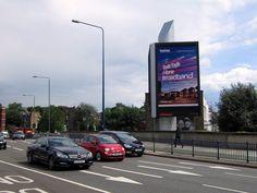 #TalkTalk campaign on #DOOH @JCDecaux_UK