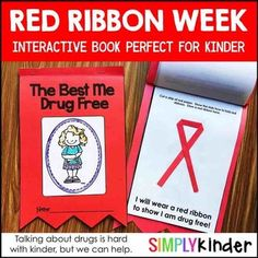 red ribbon week activities for first grade