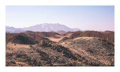 Egyptian Sahara desert