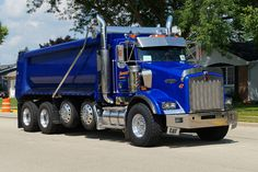 Kenworth custom T800 quad axle dump