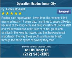 Exodus is an organization I loved from the moment I first mentored nearly 17 years ago; I...