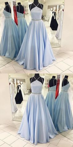 Prom Dresses Blue #PromDressesBlue, Light Blue Prom Dresses #LightBluePromDresses, Prom Dresses Long #PromDressesLong, Beautiful Prom Dresses #BeautifulPromDresses