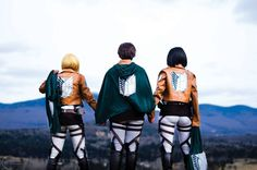 Dress as your favorite Attack on Titan character and be part of the Recon Corps! Buy them together or separately :) Item specifications: - Jacket sizes in cm: - Leather Apron sizes in cm: S - Waist: 8                                                                                                                                                                                 More