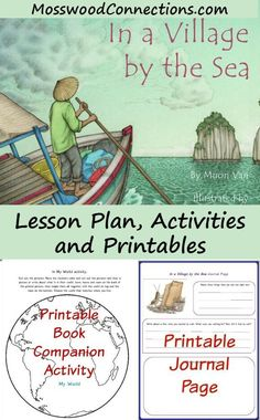 In A Village By The Sea Lesson Plan Picture Book Activities And Free Printables
