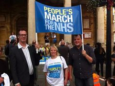 Great to join the People's March for the NHS in Northampton today. It's our NHS. We must protect it. @999CallforNHS pic.twitter.com/H2Sil4qO6x