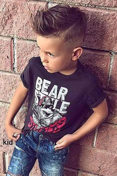 Trendy Boy Haircuts for Stylish Little Guys ? See more: http://lovehairstyles.com/boy-haircuts-trends/ (girls braided hairstyles with beads)