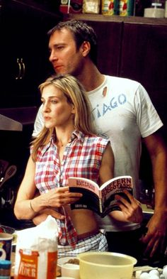 Carrie & Aidan #satc (love them together!)