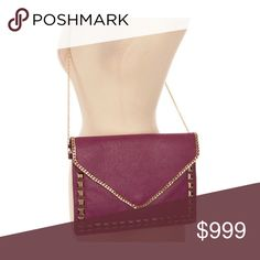 Coming soon! Fuchsia envelope crossbody COMING SOON!! Expected date of posting- 8/15.  Availability: 2  🚫Current price is not what this will be listed at. Please like this listing to be notified of its arrival 🚫 Bags Crossbody Bags